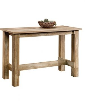 Sauder Boone Mountain Counter Height Dining Table Craftsman Oak Finish 0 300x360