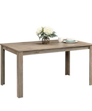 Sauder New Grange Dining Table White Pine Finish 0 300x360