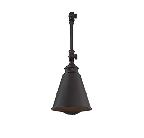 Savoy House 9 961CP 1 13 Morland 1 Light Adjustable Sconce WPlug In English Bronze 0 1