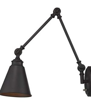 Savoy House 9 961CP 1 13 Morland 1 Light Adjustable Sconce WPlug In English Bronze 0 300x360