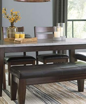 Signature Design By Ashley Larchmont Dining Room Table Burnished Dark Brown 0 0 300x360