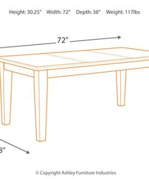 Signature Design By Ashley Larchmont Dining Room Table Burnished Dark Brown 0 2 300x360