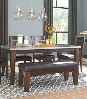 Signature Design By Ashley Larchmont Dining Room Table Burnished Dark Brown 0 3 300x339