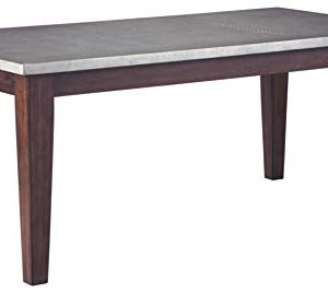 Signature Design By Ashley Larchmont Dining Room Table Burnished Dark Brown 0 300x268