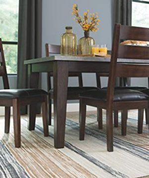 Signature Design By Ashley Larchmont Dining Room Table Burnished Dark Brown 0 5 300x360