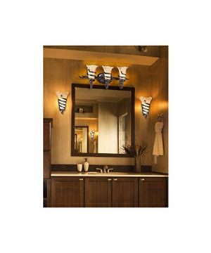 Solara Rustic Farmhouse Wall Light Sconce Iron Scroll Hardwired 17 High Fixture Scavo Glass For Bedroom Bathroom Hallway Franklin Iron Works 0 1 300x360