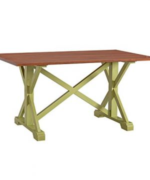 Southern Enterprises Cardwell Dining Table Brown 0 300x360