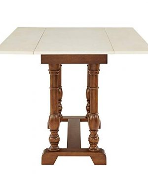 Southern Enterprises Edenderry Dining Table Dark Tobacco And Ivory 0 0 300x360