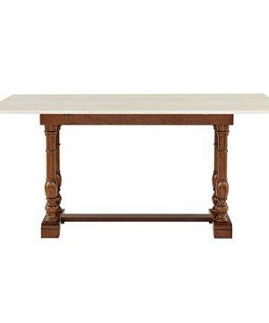 Southern Enterprises Edenderry Dining Table Dark Tobacco And Ivory 0 4 300x360