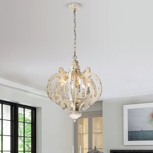 +Statement+Globe+Chandelier+with+Wood+Accents