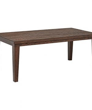 Stone Beam Dunbar Modern Wood Dining Room Kitchen Table 78 Inch Wide Oak 0 300x360