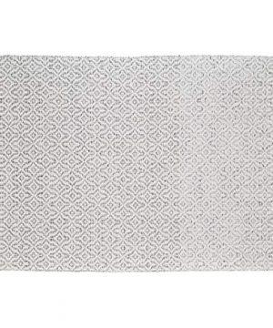 Stone Beam Woven Design Modern Throw Blanket 80 X 60 Inch White And Gray 0 0 300x360