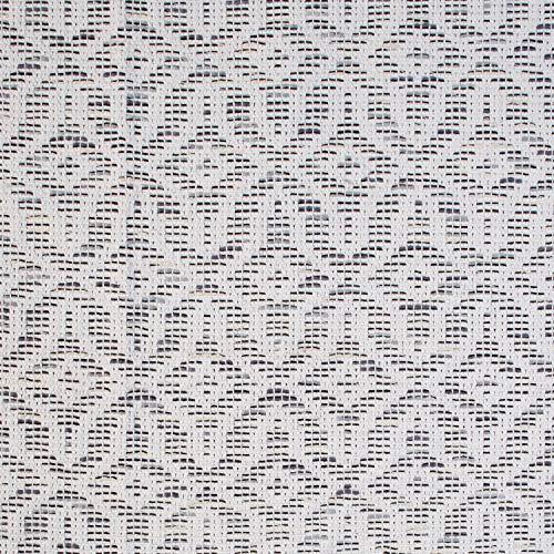 Stone Beam Woven Design Modern Throw Blanket 80 X 60 Inch White And Gray 0 2
