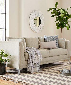 Stone Beam Woven Design Modern Throw Blanket 80 X 60 Inch White And Gray 0 5 300x360
