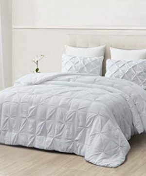 SupraSoft Mari Ultra Soft Stone Washed Comforter Set White Twins 0 1 300x360