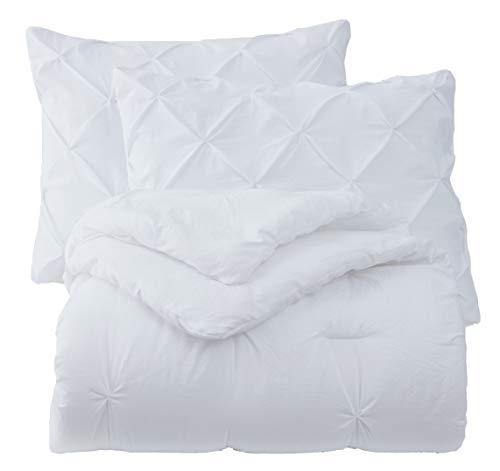 SupraSoft Mari Ultra Soft Stone Washed Comforter Set White Twins 0 2