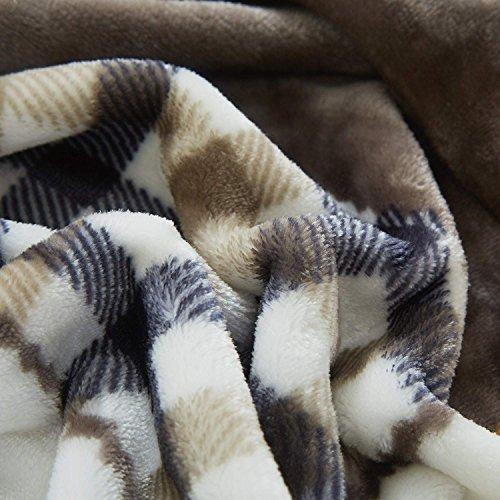 Tache Orange Fall Farmhouse Super Soft Warm Lightweight Plaid Fleece Patchwork Decorative Throw Blanket For Couch Sofa Lap 50x60 0 1