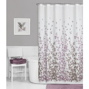Thad+Floral+Single+Shower+Curtain