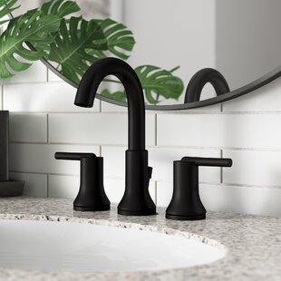 Trinsic+Widespread+Bathroom+Faucet+with+Drain+Assembly+and+DIAMOND+Seal+Technology