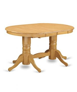 VAGR9 OAK W 9 PC Table Set Table And 8 Dining Chairs 0 0 300x360