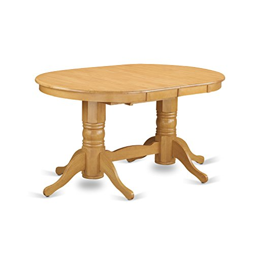 VAGR9 OAK W 9 PC Table Set Table And 8 Dining Chairs 0 0