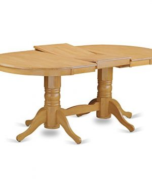 VAGR9 OAK W 9 PC Table Set Table And 8 Dining Chairs 0 1 300x360
