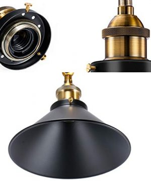 Vintage Wall Sconce Licperron Black Antique 240 Degree Adjustable Industrial Wall Light For Restaurants Galleries Aisle Kitchen Room Doorway 3 Pack 0 2 300x360