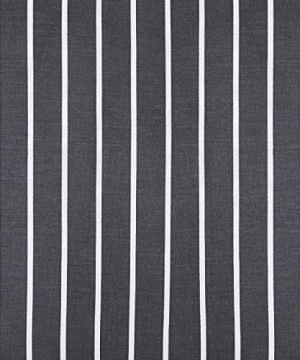 Wake In Cloud Gray Striped Comforter Set 100 Cotton Fabric With Soft Microfiber Fill Bedding White Vertical Stripes Pattern Printed On Dark Grey 3pcs Twin Size 0 3 300x360