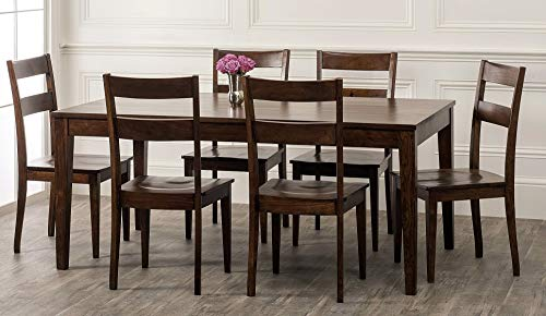 William Sheppee SON152 Sonoma 7 Piece Dining Table Set English Chestnut 0 0