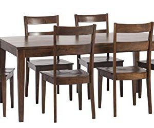 William Sheppee SON152 Sonoma 7 Piece Dining Table Set English Chestnut 0 300x250