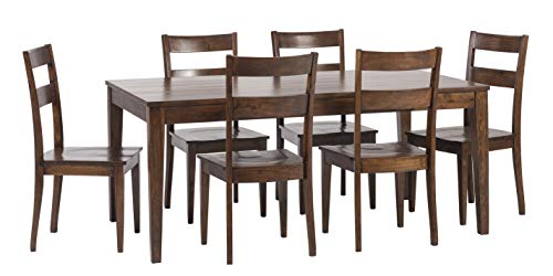 William Sheppee SON152 Sonoma 7 Piece Dining Table Set English Chestnut 0