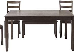 Williams Home Furnishing Gloria Dining Set Gray 0 300x210