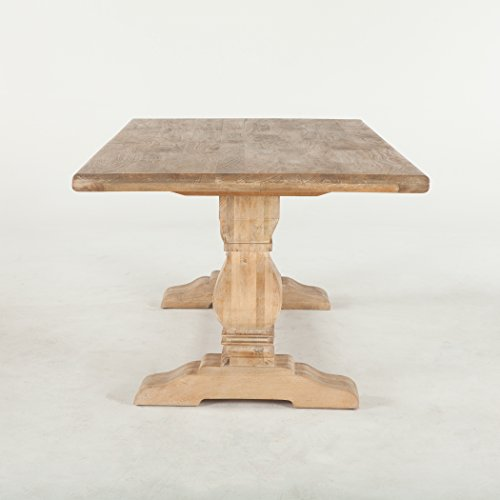 World Interiors Antique Oak Dining Table 0 1