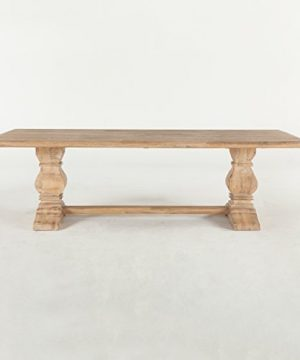 World Interiors Antique Oak Dining Table 0 300x360