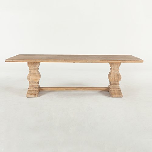 World Interiors Antique Oak Dining Table 0