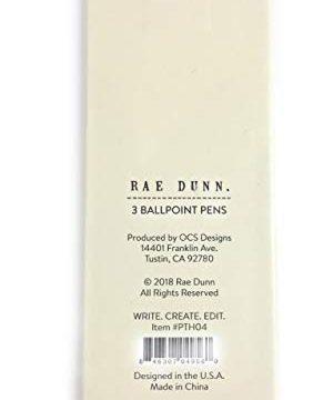 Write Create Edit Set Of 3 Ballpoint Pens By Rae Dunn 0 2 282x360