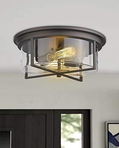 Zeyu Flush Mount Ceiling Light 14 Inch