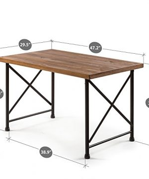 Zinus Alicia Industrial Style Dining Table 0 0 300x360