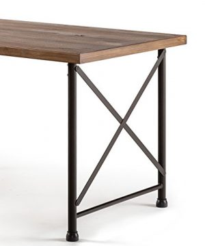 Zinus Alicia Industrial Style Dining Table 0 3 300x360