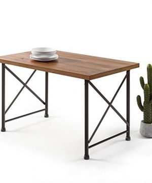 Zinus Alicia Industrial Style Dining Table 0 300x360