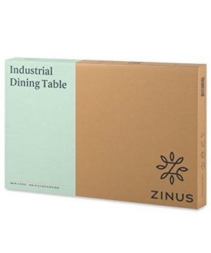 Zinus Alicia Industrial Style Dining Table 0 4 300x360