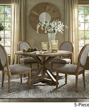 INSPIRE Q Artisan Deana Round Dining Set With Round Back Chairs By Grey 6 7 Piece Sets 0 0 300x360