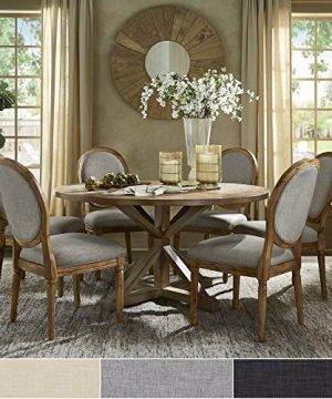 INSPIRE Q Artisan Deana Round Dining Set With Round Back Chairs By Grey 6 7 Piece Sets 0 300x360