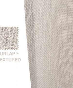 Jinchan Burlap Linen Curtains For Living Room 63 Inch Length Curtain Panels For Bedroom Set Of Two 52 W X 95 L Ivory 0 1 300x360