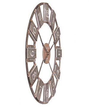 36 Galvanized Metal And Wood Windmill Clock 0 2 300x360