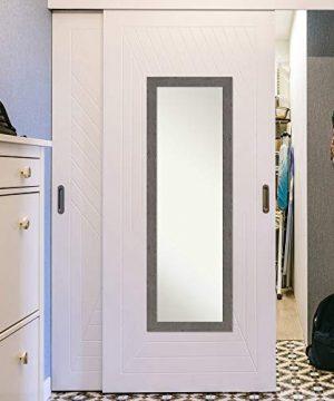 Amanti Art Full Length Mirror Rustic Plank Grey Narrow Mirror Full Length Full Body Mirror On The Door Mirror 1725 X 5125 0 3 300x360