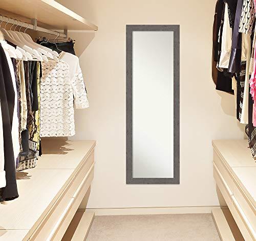 Amanti Art Full Length Mirror Rustic Plank Grey Narrow Mirror Full Length Full Body Mirror On The Door Mirror 1725 X 5125 0 4