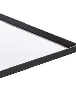 AmazonBasics Rectangular Wall Mirror 24 X 36 Peaked Trim Black 0 1 300x360