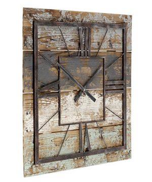 Aspire Weston Square Wall Clock Multicolor 0 0 300x360