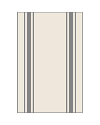 Aunt Marthas Gray Striped Dish Towels 0